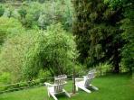 Rear cottage garden