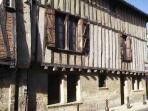 Beautiful timbered building opposite the boulangerie - 3 minute stroll from the house