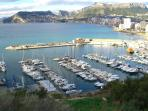 The harbour at Calpe