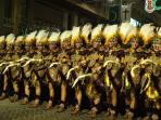 The Moors and Christians parade, celebrated in October every year