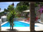 Pool from the Dinning Terrace