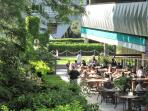The Garden cafe on our ground floor