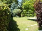 Jardin autour de la piscine