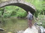 Stone bridge at Berges