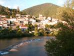 Wonderful river bathing at Roquebrune
