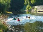 Kayaking on Lot River