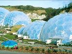 The famous Eden Project is only 50 minutes by car