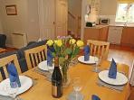 Tricklebrook Cottage Dining Area