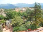 View from Villa Testa terrace