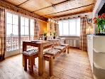 Upper Apartment - Dining / Breakfast Area