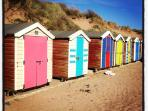 Hire a beach huts for the day on Saunton Sands