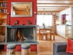 Upper Apartment - Fire Place