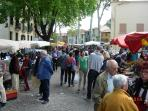 Large exciting market held every Saturday