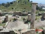Le rovine della cittadella ellenistico-romana si estendono per circa 1 km.quadrato