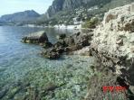 Discese a mare da Capo Zafferano