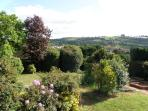 Back garden and Views