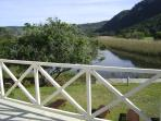 Enjoy your morning coffee on the verandah of main bedroom while you watching the ducks in the river
