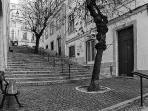 Escadinhas (small stairs) near the apartment