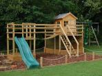 The kids play area