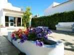 Garden poolside terrace