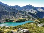 Fabulous mountain walks and glacial lakes.