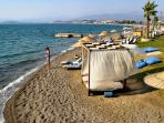 Beautiful Calis beach only 500 metres