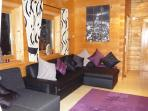 Delightful lounge area with lots of space in House 3