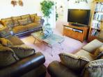 Separate TV Lounge with 42' HDTV