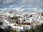 View of Ronda Old Town Area