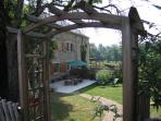 Aveyron Gite with private garden