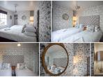 The Curiouser & Curiouser bedroom (sleeps 2 in a double or twin beds)