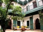 Main courtyard riad