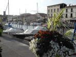 Pretty 'horseshoe' harbour of Marseillan
