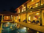 4-Bed Seaview Samui Pool Villa in NE 1km to Beach