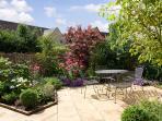 The pretty private garden