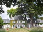 Cœur de manoir français de France