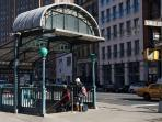 Nearby West Broadway subway station