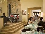 The Italian Restaurant Olivio on site
