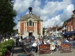Henley's town square