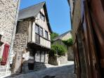 Half timbered house, Dinan