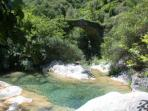 One of several beautiful mountain streams to swim in on hot summer days
