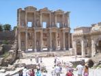 The Libary at Ephesus 17 km from Kusadasi
