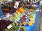 Selcuk Saturday market offers both food, clothing & household goods