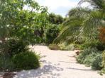Impression of the garden in Aux Merveilleux