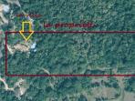 villa sur 3,4 hectares de maquis