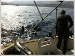 Enjoy our holiday activities: diving near St Tropez