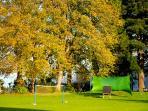 Archery on The Old School Lawn