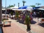 Kadriye is quieter than Belek,has a couple of good restaurants,& also has a weekly market.
