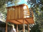 Borgolecaselle - Casa Sottana - wooden house on stilts