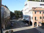 La vista di Borgo Cavour da una delle nostre finestre